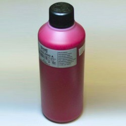 Bright red film blood A in a 500ml bottle