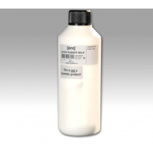 Grimas latex rubber milk 500ml bottle
