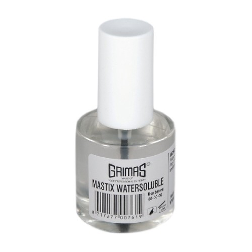 Grimas water based gum 10ml with brush