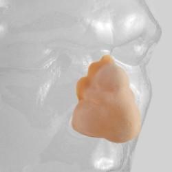 Latex false nose - Grimas code  22 boxer