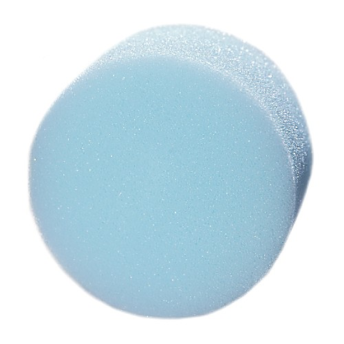 Makeup sponge round for water based and cake